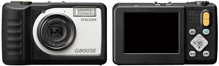 GPS Camera Ricoh G800SE