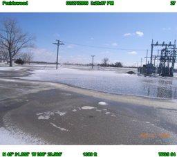 Utility Flooding. Photo Courtesy of Brown County, South Dakota.